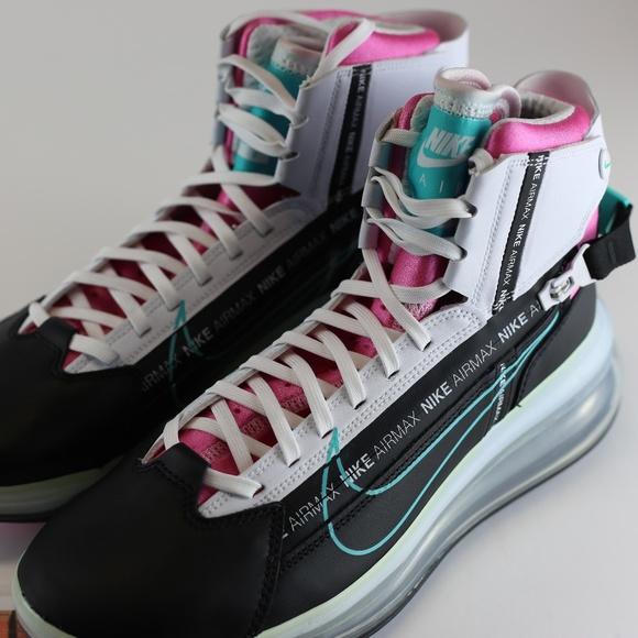 Nike Shoes Air Max 720 Saturn Miami Vice Black White Poshmark